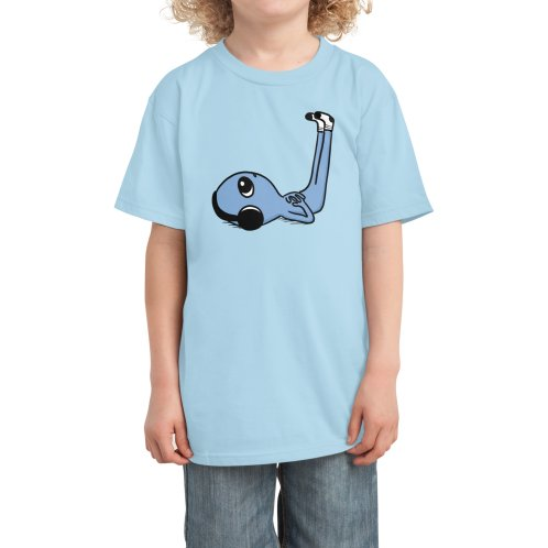 image for CENTERED HEADPHONES LIMB ELEVATION BEING - BLUE