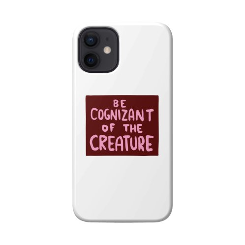 image for BE COGNIZANT OF THE CREATURE v2