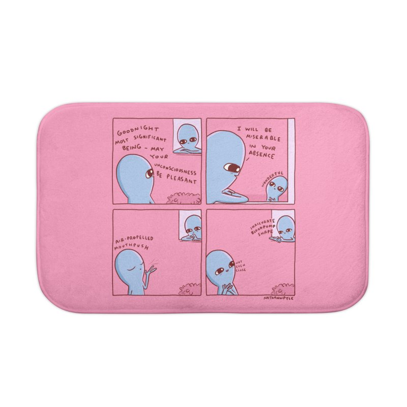 STRANGE PLANET: INACCURATE Home Bath Mat by Nathan W Pyle Shop | Strange Planet Store | Thread