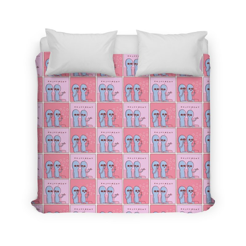 Strange Planet Special Product: Enjoyment Pattern Home Duvet by Nathan W Pyle Shop | Strange Planet Store | Thread