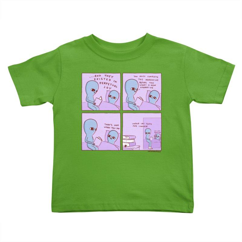STRANGE PLANET: UNFAIR Kids Toddler T-Shirt by Nathan W Pyle Shop   Strange Planet Store   Thread
