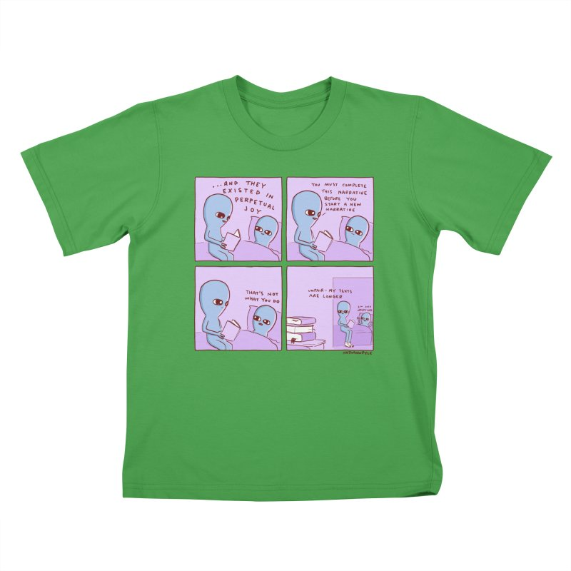 STRANGE PLANET: UNFAIR Kids T-Shirt by Nathan W Pyle Shop | Strange Planet Store | Thread