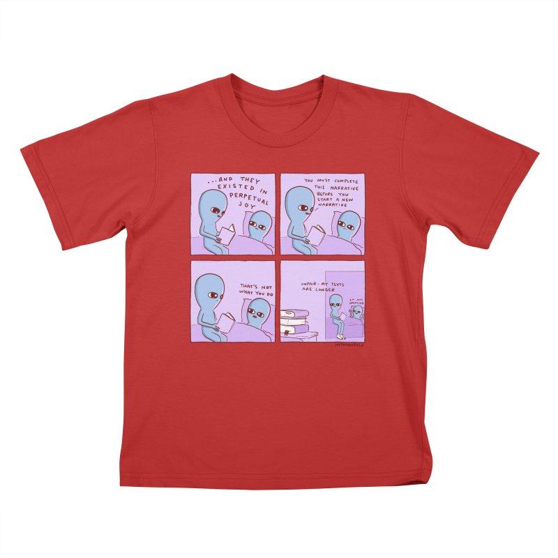 STRANGE PLANET: UNFAIR Kids T-Shirt by Nathan W Pyle Shop   Strange Planet Store   Thread