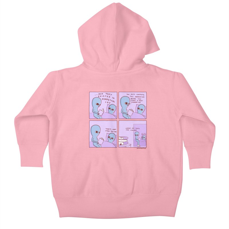 STRANGE PLANET: UNFAIR Kids Baby Zip-Up Hoody by Nathan W Pyle Shop | Strange Planet Store | Thread