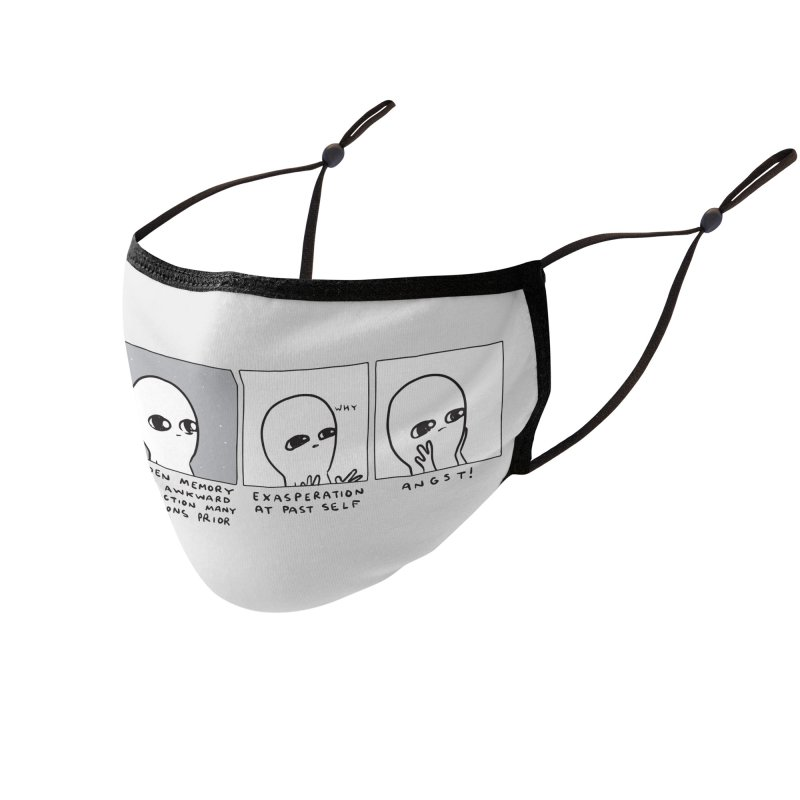 Strange Planet: Angst Accessories Face Mask by Nathan W Pyle Shop   Strange Planet Store   Thread