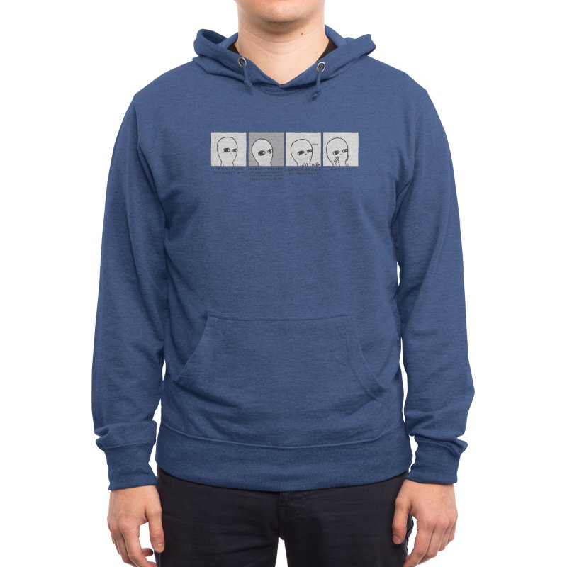 Strange Planet: Angst Men's Pullover Hoody by Nathan W Pyle Shop | Strange Planet Store | Thread