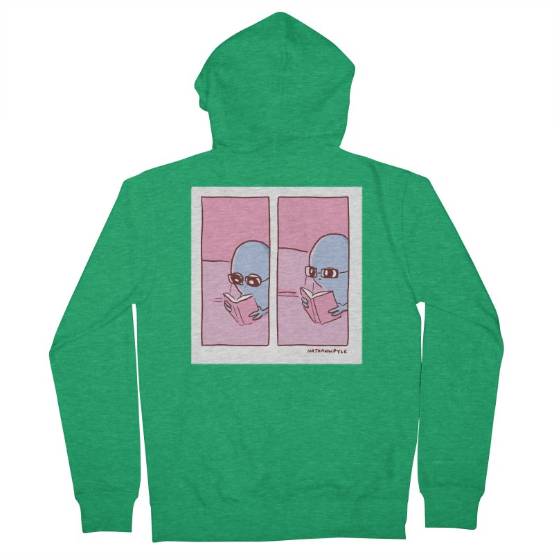 Strange Planet: Reading Women's Zip-Up Hoody by Nathan W Pyle Shop   Strange Planet Store   Thread