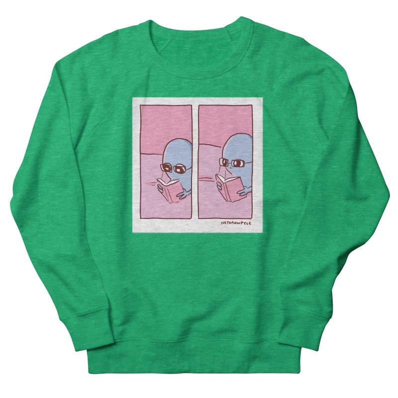 Strange Planet: Reading Women's Sweatshirt by Nathan W Pyle Shop | Strange Planet Store | Thread