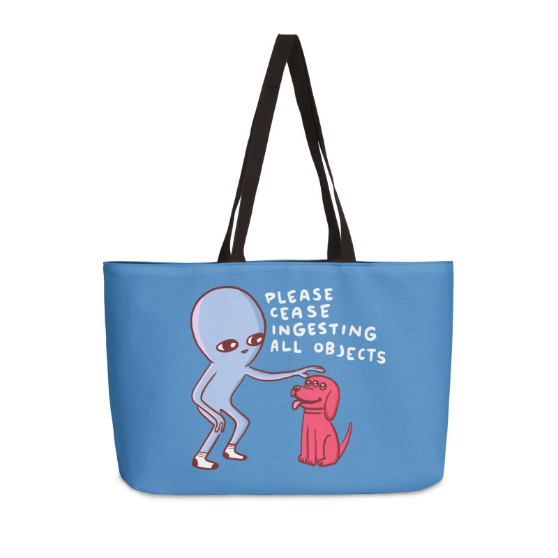 STRANGE PLANET: PLEASE CEASE INGESTING ALL OBJECTS Accessories Bag by Nathan W Pyle Shop | Strange Planet Store | Thread