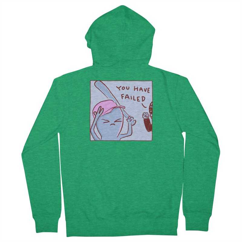 STRANGE PLANET: YOU HAVE FAILED Men's Zip-Up Hoody by Nathan W Pyle Shop | Strange Planet Store | Thread