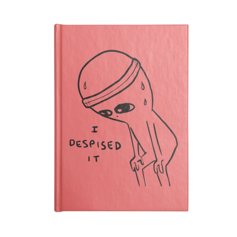 STRANGE PLANET: I DESPISED IT Accessories Notebook by Nathan W Pyle Shop   Strange Planet Store   Thread