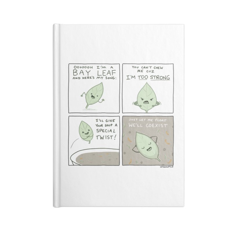 THE BAY LEAF SONG Accessories Notebook by Nathan W Pyle Shop | Strange Planet Store | Thread