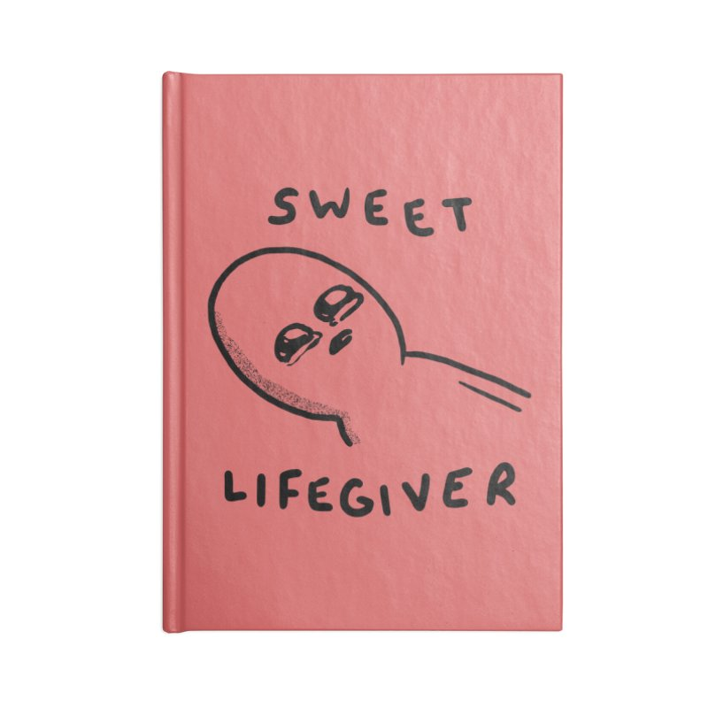 STRANGE PLANET: SWEET LIFEGIVER Accessories Notebook by Nathan W Pyle Shop | Strange Planet Store | Thread