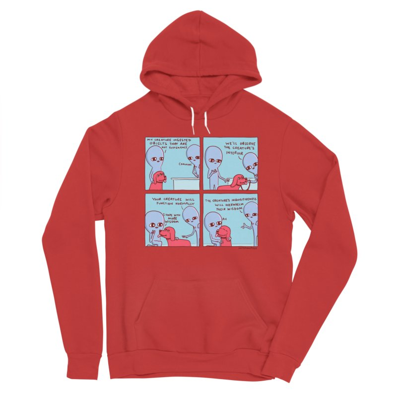 STRANGE PLANET: MY CREATURE INGESTED OBJECTS Men's Pullover Hoody by Nathan W Pyle Shop   Strange Planet Store   Thread