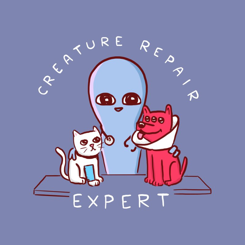 STRANGE PLANET SPECIAL PRODUCT: CREATURE REPAIR EXPERT Women's T-Shirt by Nathan W Pyle Shop | Strange Planet Store | Thread