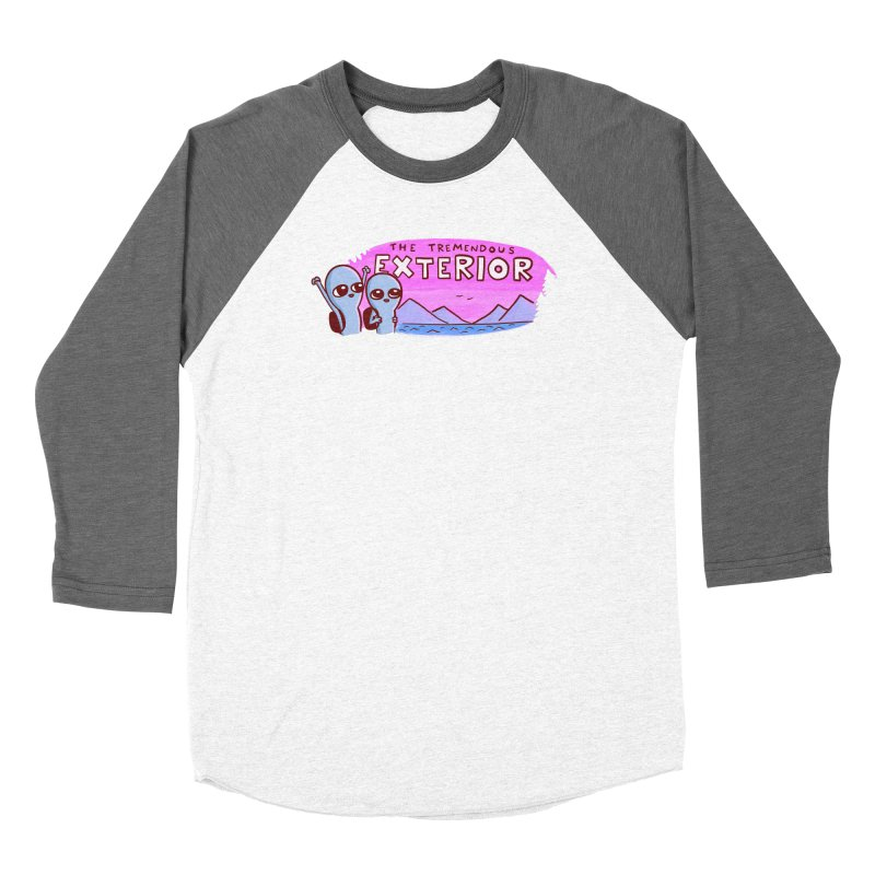 STRANGE PLANET: THE TREMENDOUS EXTERIOR Women's Longsleeve T-Shirt by Nathan W Pyle Shop   Strange Planet Store   Thread