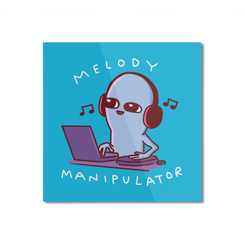 STRANGE PLANET: MELODY MANIPULATOR Home Mounted Aluminum Print by Nathan W Pyle Shop | Strange Planet Store | Thread