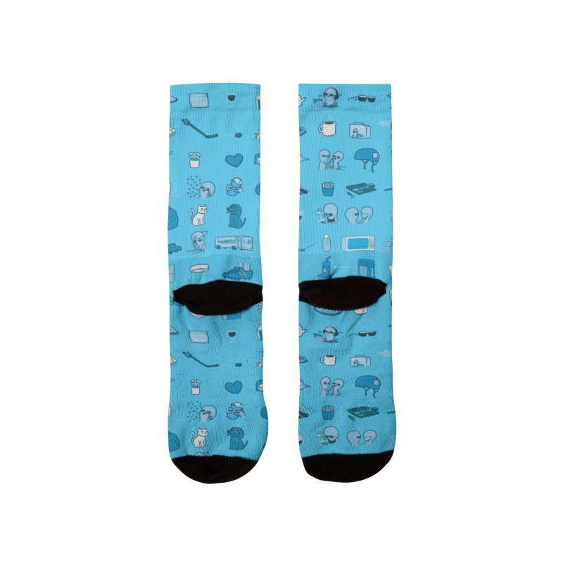 STRANGE PLANET: COMMONLY OBSERVED OBJECTS & BEINGS - MUTED Women's Socks by Nathan W Pyle Shop | Strange Planet Store | Thread