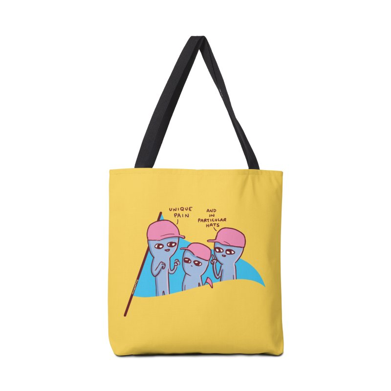 STRANGE PLANET: UNIQE PAIN IN PARTICULAR HATS Accessories Bag by Nathan W Pyle Shop | Strange Planet Store | Thread