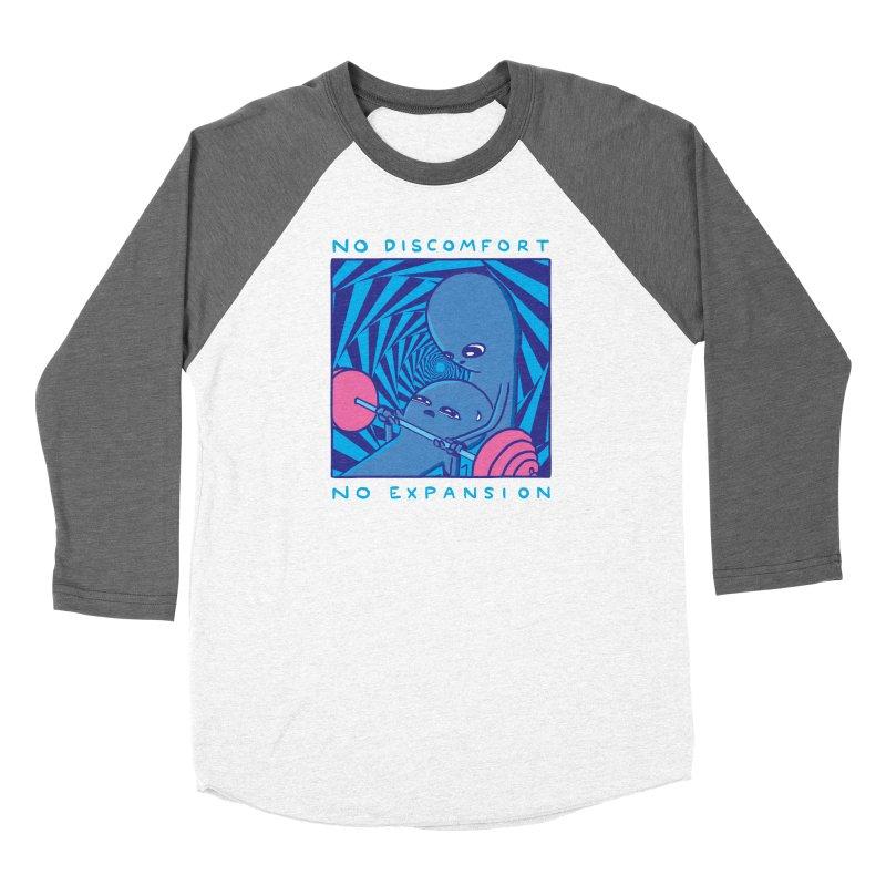 STRANGE PLANET: NO DISCOMFORT NO EXPANSION - STRANGE TIMES EDITION Women's Longsleeve T-Shirt by Nathan W Pyle Shop | Strange Planet Store | Thread