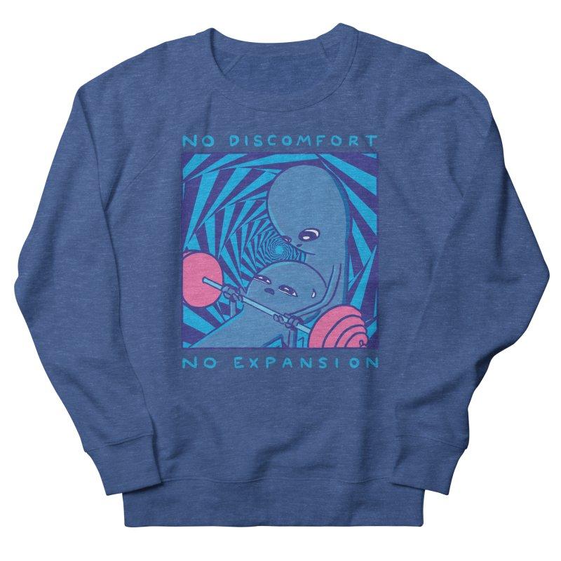 STRANGE PLANET: NO DISCOMFORT NO EXPANSION - STRANGE TIMES EDITION Women's Sweatshirt by Nathan W Pyle Shop | Strange Planet Store