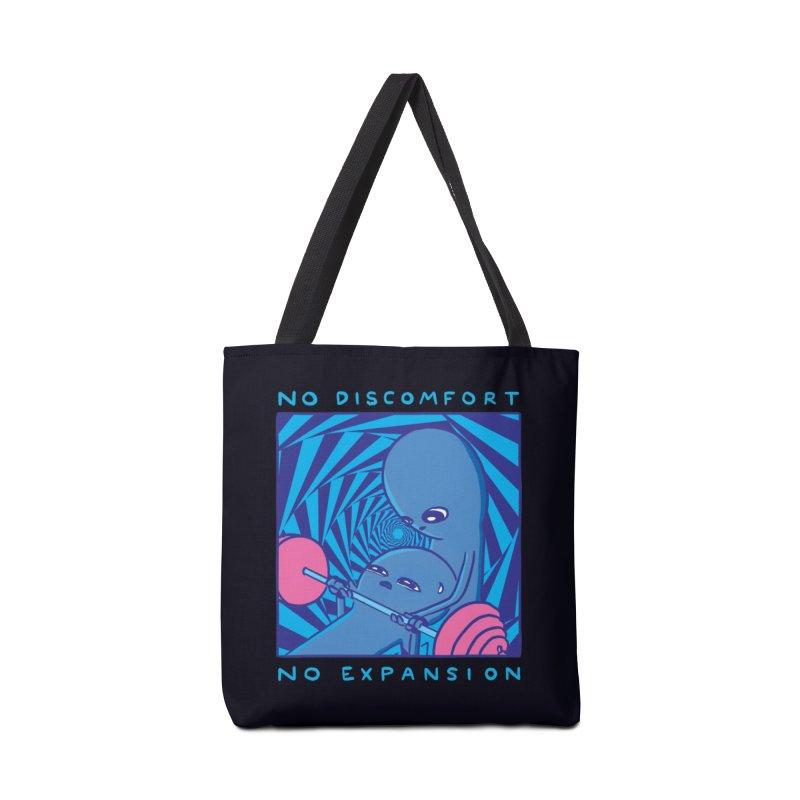 STRANGE PLANET: NO DISCOMFORT NO EXPANSION - STRANGE TIMES EDITION Accessories Bag by Nathan W Pyle Shop   Strange Planet Store   Thread