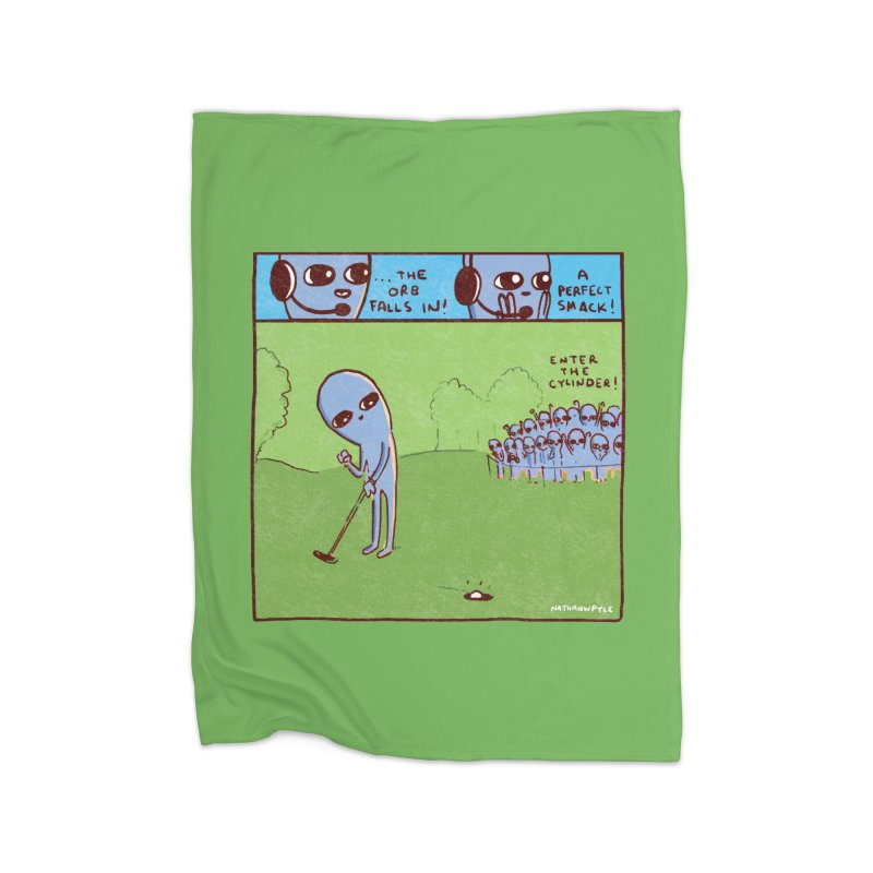 STRANGE PLANET: A PERFECT SMACK Home Blanket by Nathan W Pyle Shop | Strange Planet Store | Thread
