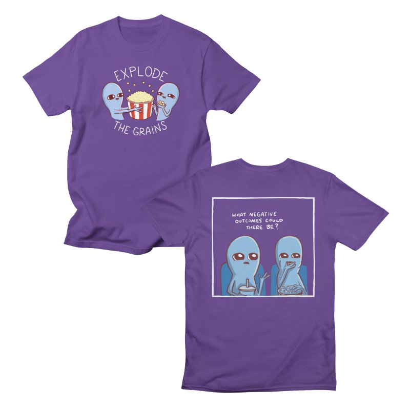 STRANGE PLANET: FEATURED PRESENTATION - DOUBLE SIDED Men's T-Shirt by Nathan W Pyle Shop | Strange Planet Store | Thread