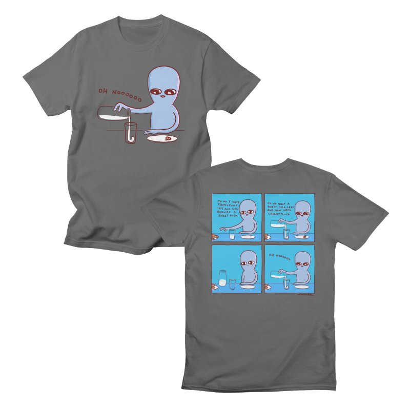 STRANGE PLANET: SWEET DISKS - DOUBLE SIDED Men's T-Shirt by Nathan W Pyle Shop | Strange Planet Store