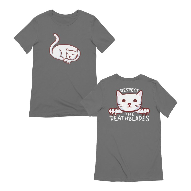 STRANGE PLANET: RESPECT THE DEATHBLADES - DOUBLE SIDED Women's T-Shirt by Nathan W Pyle Shop   Strange Planet Store