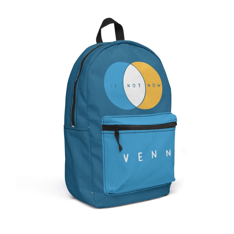If Not Now Venn Accessories Backpack Bag by Nathan W Pyle