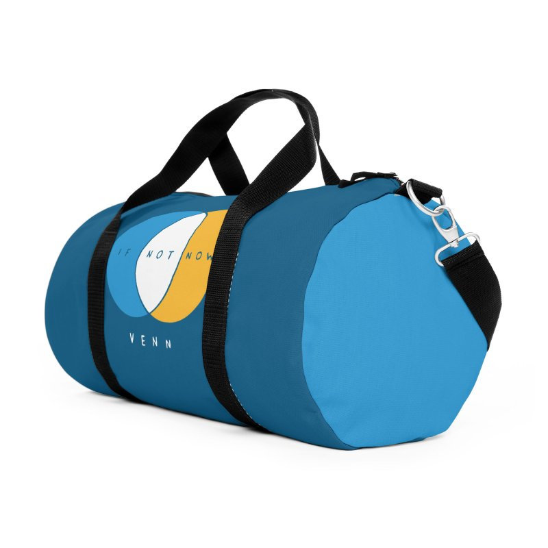 If Not Now Venn Accessories Duffel Bag Bag by Nathan W Pyle