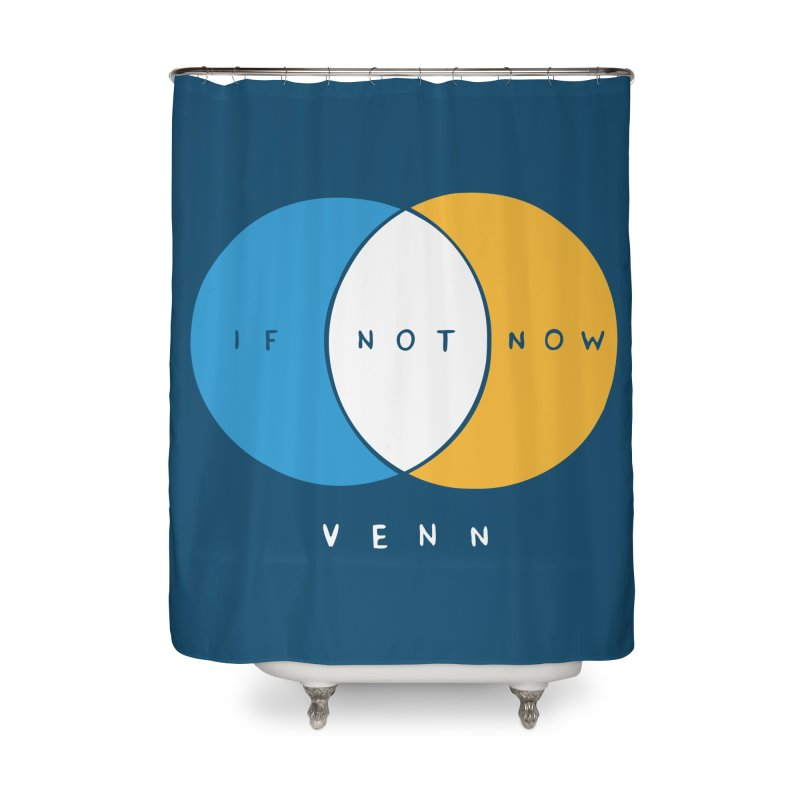 If Not Now Venn Home Shower Curtain by Nathan W Pyle Shop | Strange Planet Store | Thread