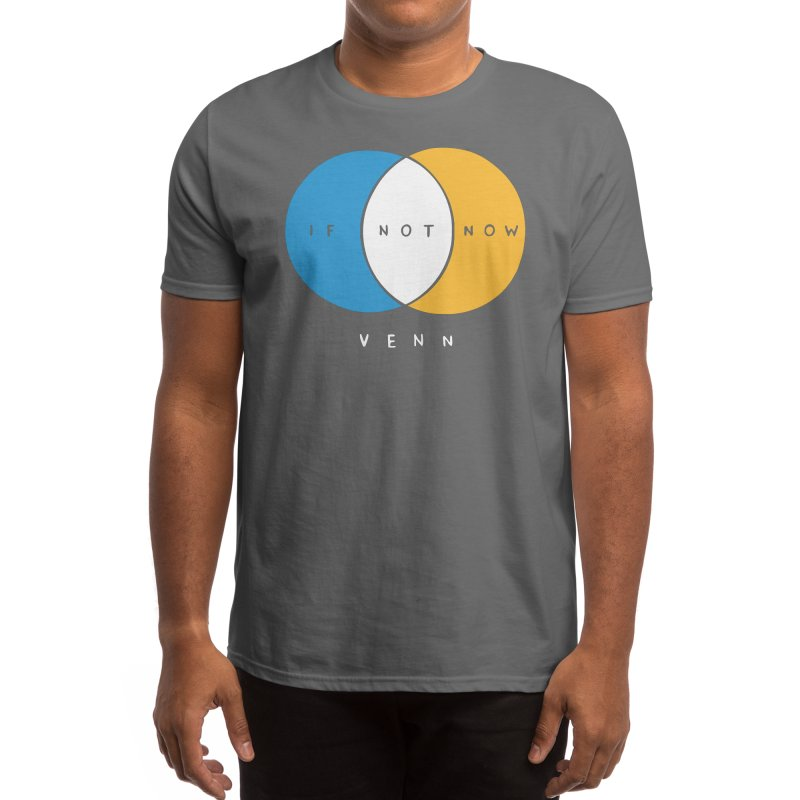 If Not Now Venn Men's T-Shirt by Nathan W Pyle Shop | Strange Planet Store | Thread