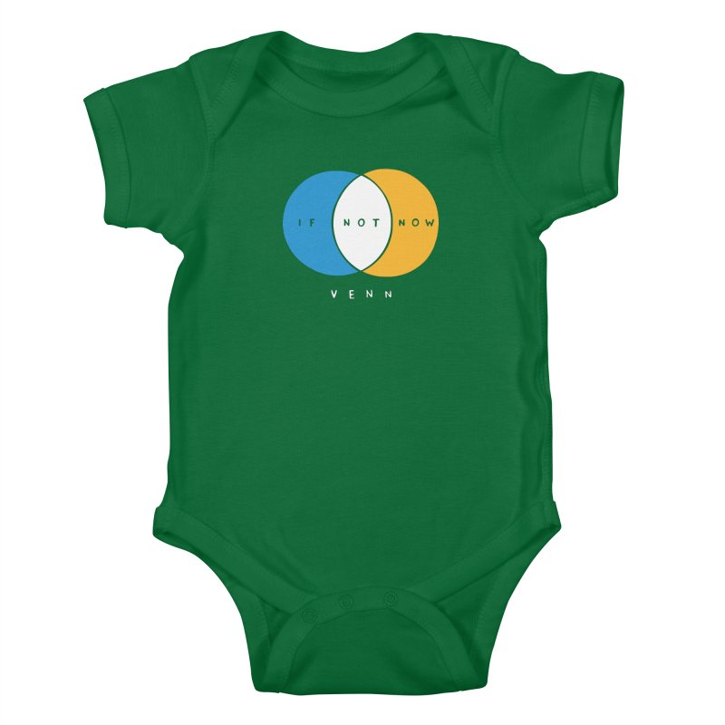If Not Now Venn Kids Baby Bodysuit by Nathan W Pyle