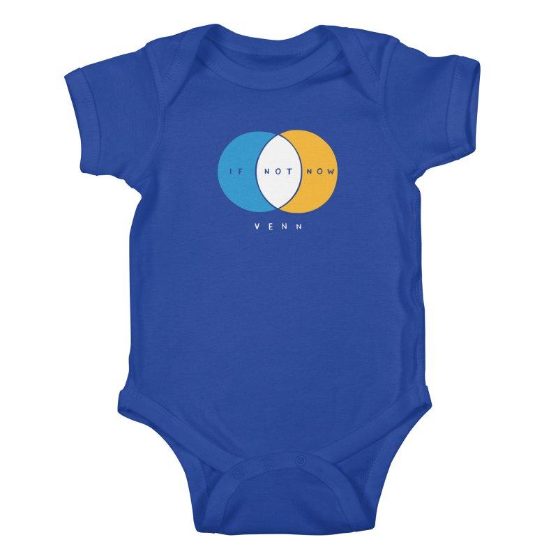 If Not Now Venn Kids Baby Bodysuit by Nathan W Pyle Shop   Strange Planet Store   Thread