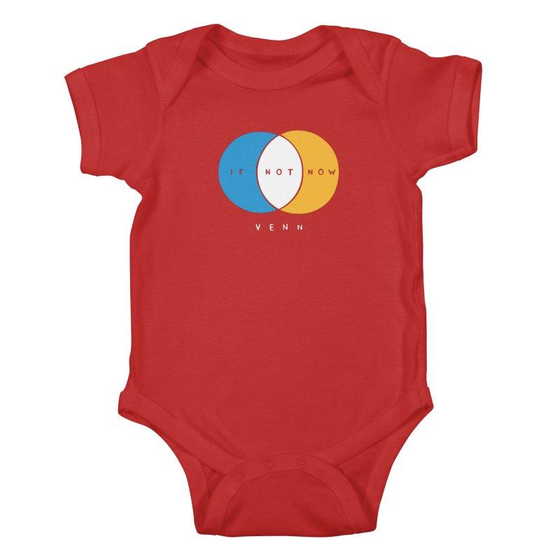 If Not Now Venn Kids Baby Bodysuit by Nathan W Pyle Shop | Strange Planet Store | Thread