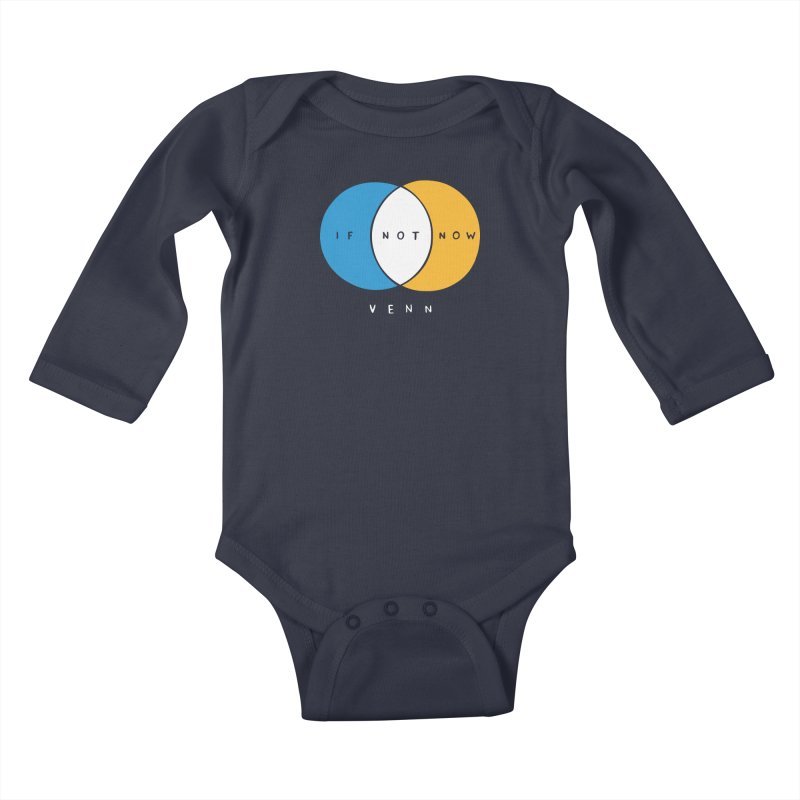 If Not Now Venn Kids Baby Longsleeve Bodysuit by nathanwpyle's Artist Shop