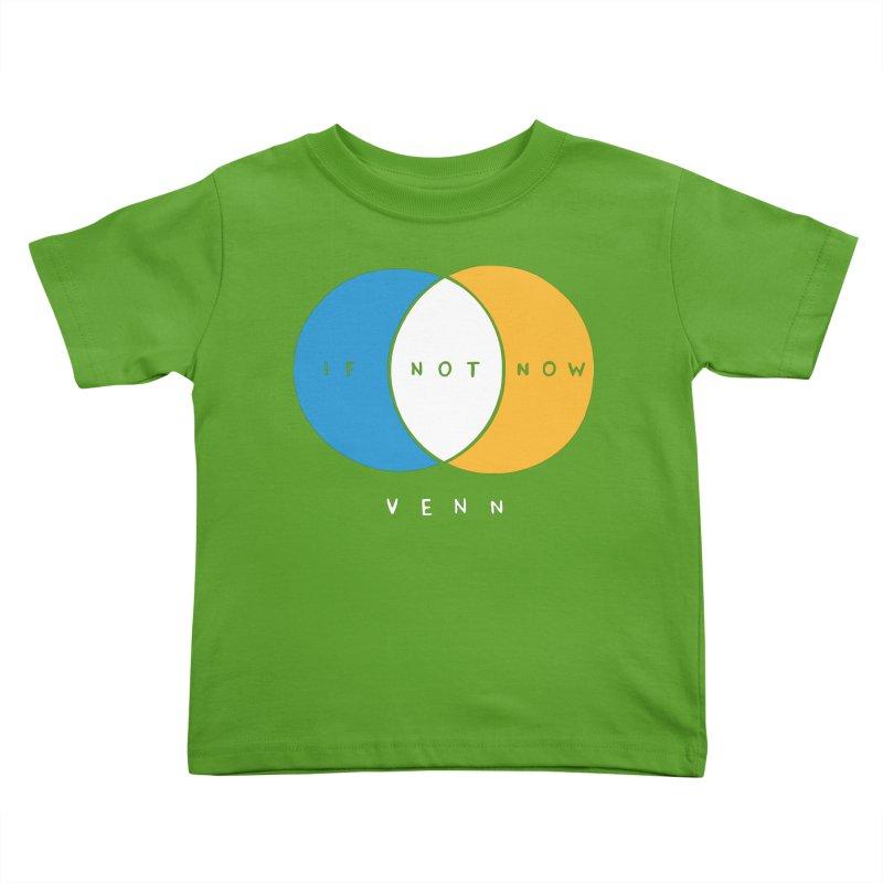 If Not Now Venn Kids Toddler T-Shirt by Nathan W Pyle Shop | Strange Planet Store