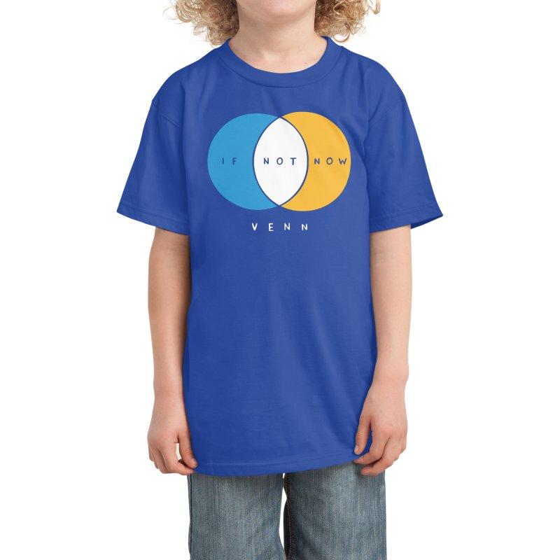 If Not Now Venn Kids T-Shirt by Nathan W Pyle Shop   Strange Planet Store