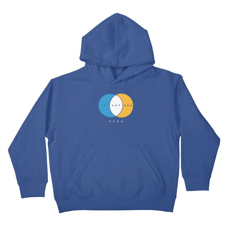 If Not Now Venn Kids Pullover Hoody by Nathan W Pyle Shop | Strange Planet Store | Thread