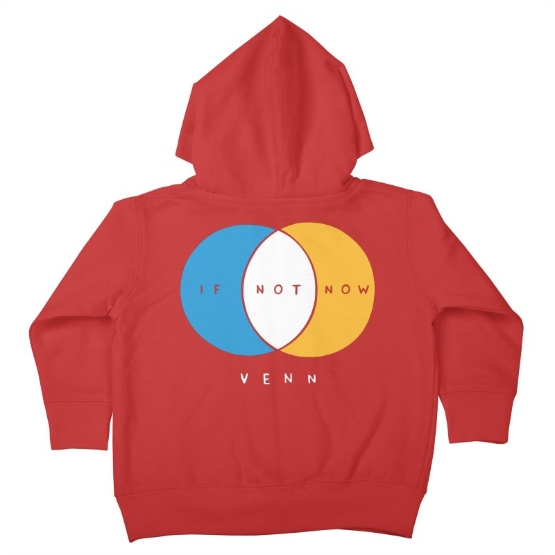 If Not Now Venn Kids Toddler Zip-Up Hoody by Nathan W Pyle Shop | Strange Planet Store | Thread