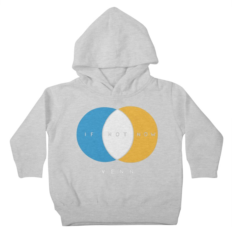 If Not Now Venn Kids Toddler Pullover Hoody by Nathan W Pyle Shop   Strange Planet Store   Thread