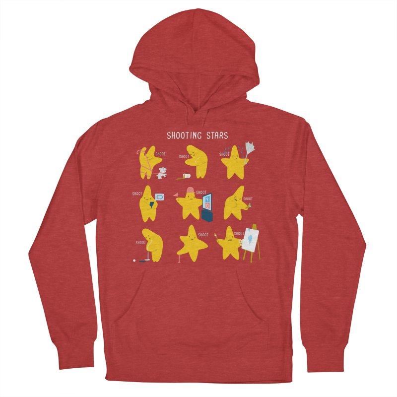 Shooting Stars Women's Pullover Hoody by nathanwpyle's Artist Shop