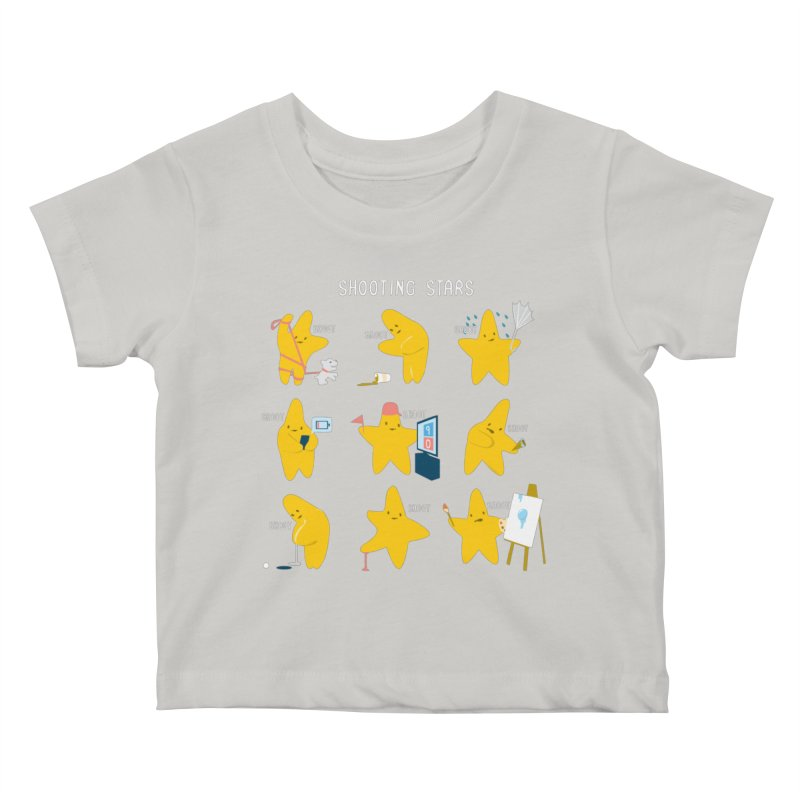 Shooting Stars Kids Baby T-Shirt by nathanwpyle's Artist Shop