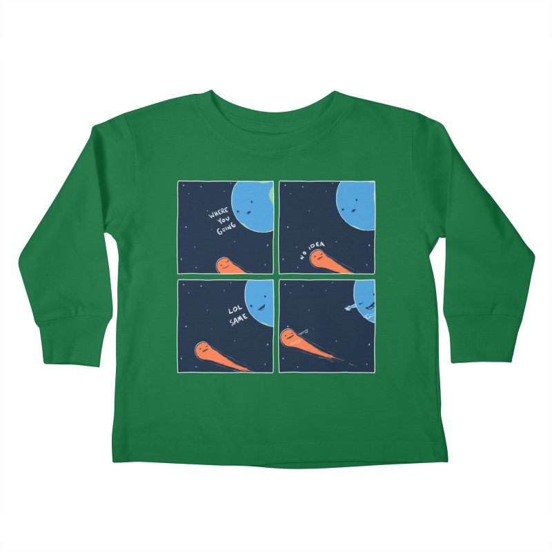 Same Kids Toddler Longsleeve T-Shirt by nathanwpyle's Artist Shop