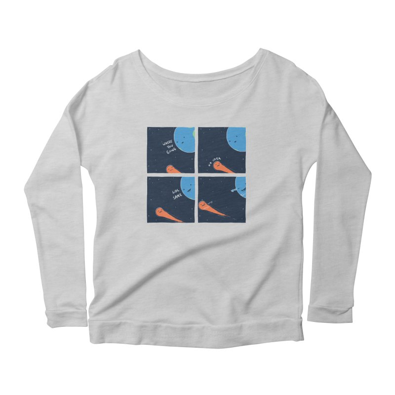 Same Women's Longsleeve Scoopneck  by nathanwpyle's Artist Shop