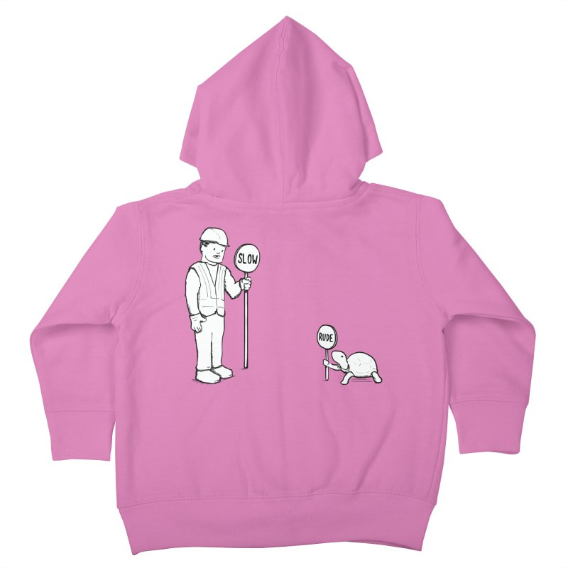 Rude Kids Toddler Zip-Up Hoody by nathanwpyle's Artist Shop