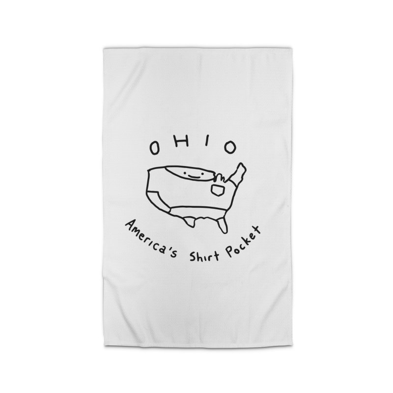 OHIO America's Shirt Pocket Home Rug by nathanwpyle's Artist Shop
