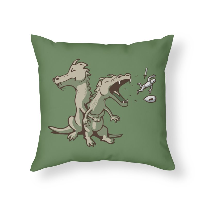 Unlikely Hero Home Throw Pillow by nathanwpyle's Artist Shop